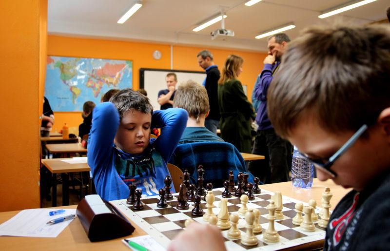 Přebor Prahy žáků jednotlivců po třetím turnaji