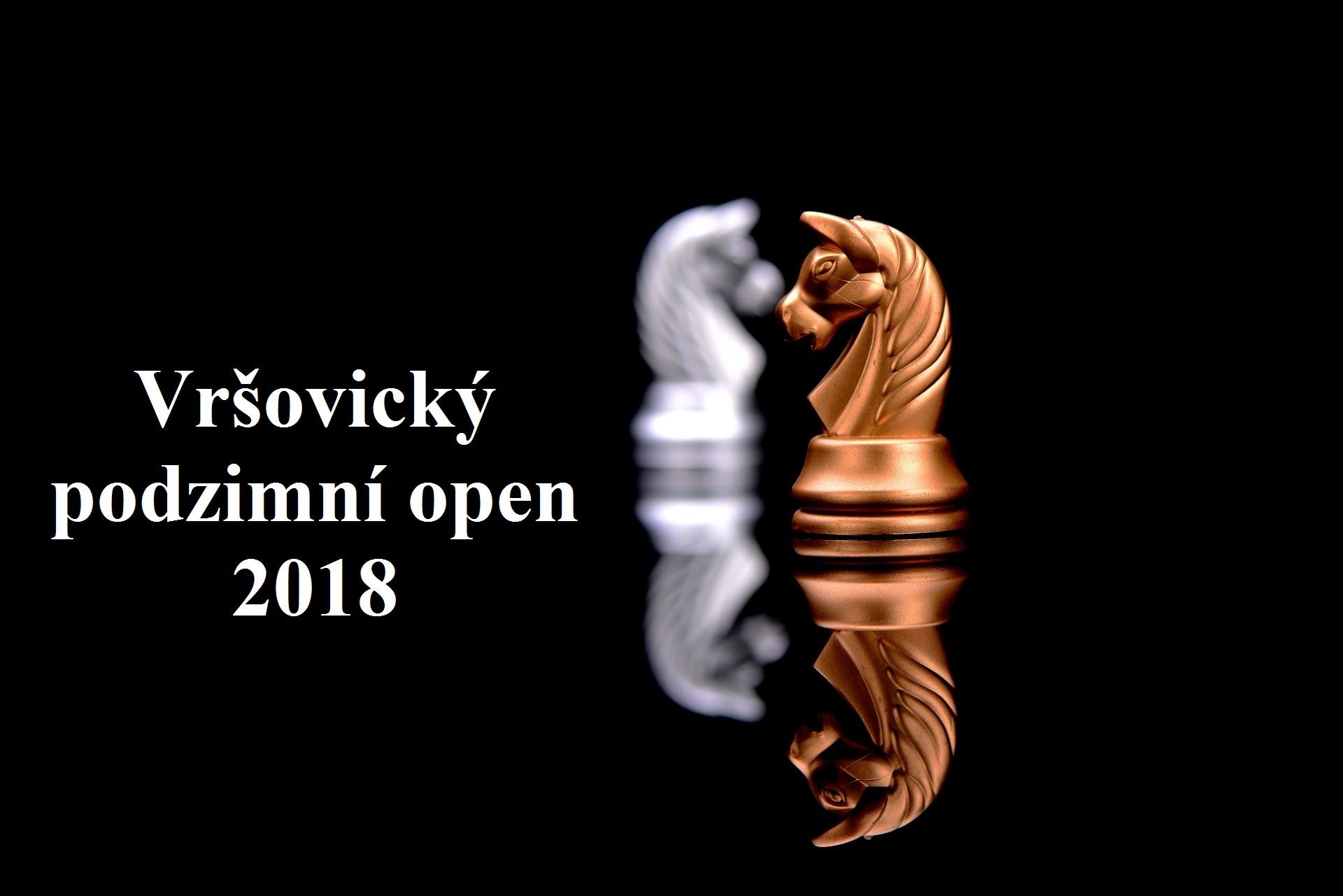Vršovický podzimní open 2018