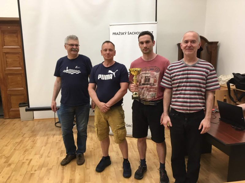 Přebor Prahy jednotlivců – výsledky